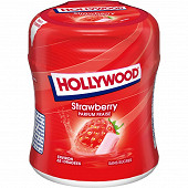 Hollywood bottle fraise ss 60 dragées 87g