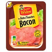 Justin Bridou les belles tranches bacon boite fraicheur 16 tranches 160g