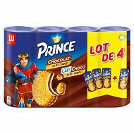 Prince lot de 4 3 chocolat et 1 lait 1200g