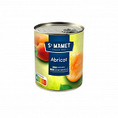 St Mamet abricots au sirop 475g net égoutté