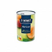 St Mamet abricot  boite 1/2 235g net egoutté