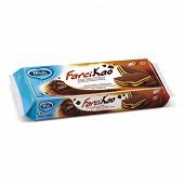 10 mini génoises fourrées chocolat 280 g