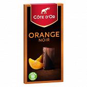 Côte d'or dégustation orange noir 100g