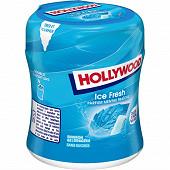 Hollywood ice fresh menthe fraîche 60 dragées sans sucres bottle 87g