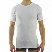 Lot de 2 tee shirts manches courtes col ras du cou Influx basic BLANC T7