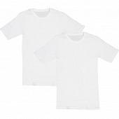 Lot de 2 tee shirts manches courtes col ras du cou Influx basic BLANC T4