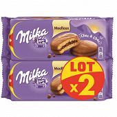 Milka choc & choc moelleux lot x2 350g