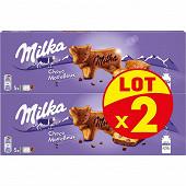 Milka choco moo'elleux lot de 2x140g