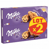 Milka choco pépites lot x2 280g
