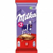 Milka petit Lu tablette 2 X 87g