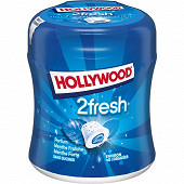 Hollywood 2Fresh menthe fraiche menthe forte sans sucres 40 dragees 88g