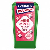 Hollywood mini mints bonbons sans fruit d'été 12.5g