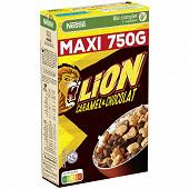 Lion céréales caramel et chocolat 750g