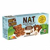 Nat ourson chocolat 6x32g 192g