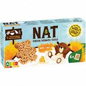 Nat ourson miel 6x32g 192g