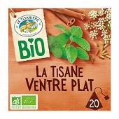 La tisanière la tisane ventre plat bio x20 30g