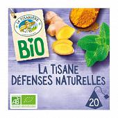 La tisanière la tisane défenses naturelles bio x20s - 30g