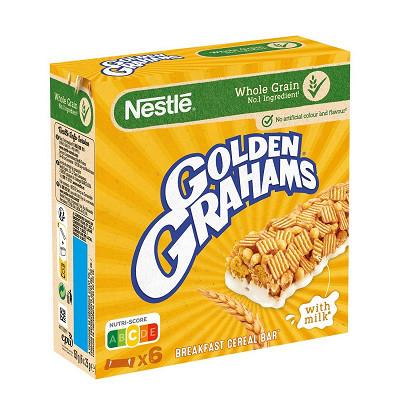 Nestlé Golden Grahams 6 barres céréales et lait 150g
