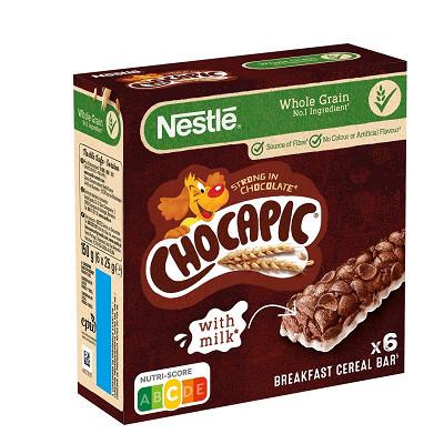 Nestlé Chocapic barres céréales  6 x25g