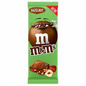 Tablette M&M'S noisettes 165g