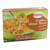 Cora gratin de choux-fleurs prégratiné 450g