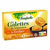 Bonduelle galettes julienne de carottes écrasé de potiron 300g