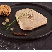 Foie gras d'oie tranche forme trapèze en emballage individuel operculé 40g