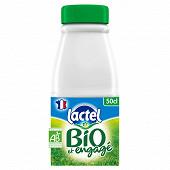 Lactel Bio écrémé bouteille 50cl