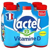 Lactel lait entier 6x50cl