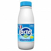 Lactel lait demi-écrémé avec vitamine D  50cl