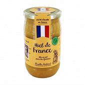 Michaud apiculteurs miel de france crémeux pot plastique 100% recyclé 1kg
