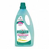 Sanytol nettoyant désinfectant sols & surfaces Citron 1l