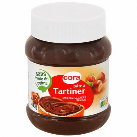 Cora pâte à tartiner sans huile de palme 400g