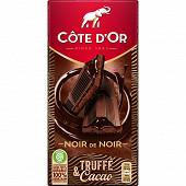 Cote d'or fourré épais noir truffe coeur coulant chocolat 190g