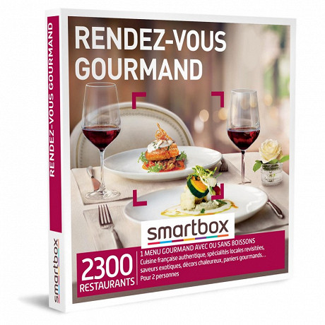 Smartbox Rendez-vous gourmand