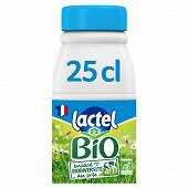 Lactel Bio 1/2 écrémé bouteille 25cl