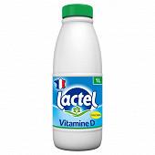 Lactel écrémé bouteille 1l
