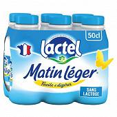 Lactel matin léger lait à 1.2% m.g 6 x 50 cl