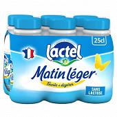 Lactel Matin léger 1.2%mg uht bouteille 6x25 cl