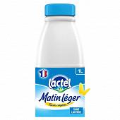 Lactel matin léger lait à 1.2% m.g  1 l
