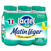 Lactel Matin léger écrémé 6x50cl