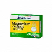 Juvamine magnésium + vitamines B1 - B2 - B6 30 comprimés effervescents