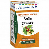 Juvamine phyto brule graisse 60 gelules 22g
