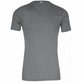 Tee shirt manches courtes col v ligne héritage Eminence 6600 GRIS CHINE T2