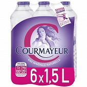 Courmayeur eau minérale naturelle 6x1,5l