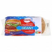 Cora 4 pains pour hamburger géant 330g