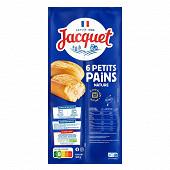 Jacquet petite fournee 6 petits pains natures 300 g