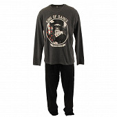 Pyjama long manches longues homme ANTHRACITE XXL