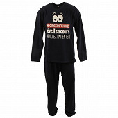 Pyjama long manches longues homme MARINE XXL