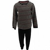 Pyjama long manches longues garçon RAYE/MARINE 12ANS